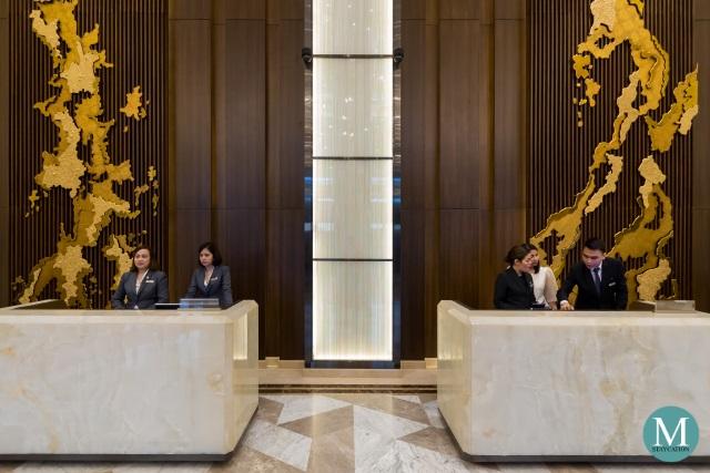 Sheraton Manila Hotel Reception