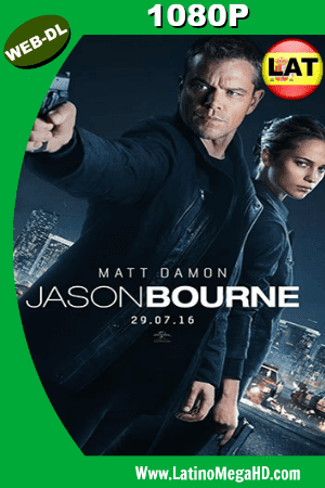Jason Bourne (2016) Latino HD WEB-DL 1080P ()