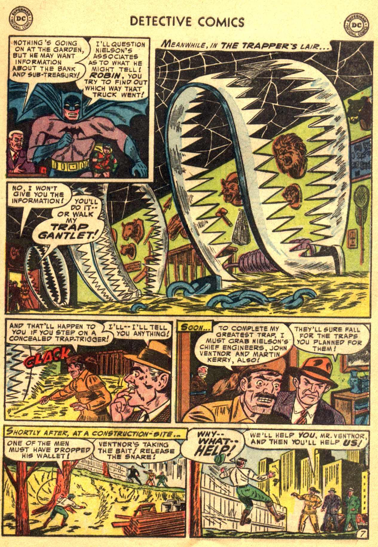 Read online Detective Comics (1937) comic -  Issue #206 - 7