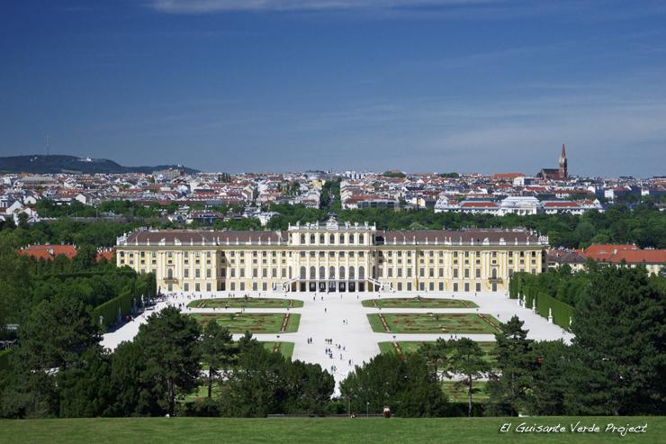 Palacio de Schönbrunn - Viena, por El Guisante Verde Project