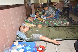 HUT Korem 011/Lilawangsa Sumbang Darah