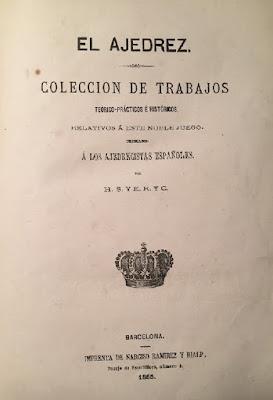 Portada del libro El Ajedrez de la edición encuadernada en rústica