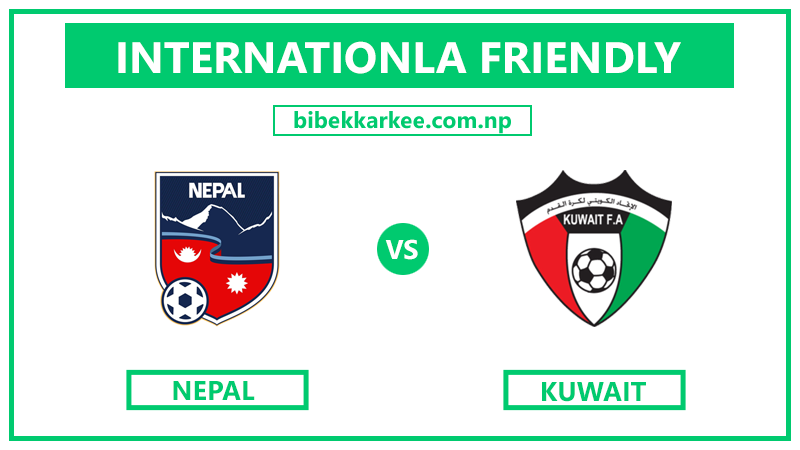 Watch Live | Nepal vs Kuwait | International Football Friendly