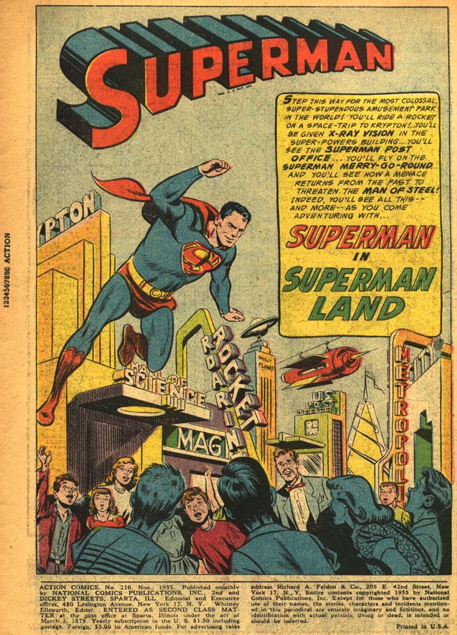 Read online Action Comics (1938) comic -  Issue #210 - 5
