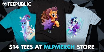 TeePublic June Sale: All MLP Shirts Now $14