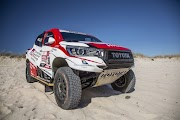 Toyota wins leadership in Dakar Rally