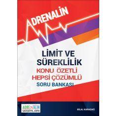 Limit ve Süreklilik Konu Özetli Hepsi Çözümlü Soru Bankası Adrenalin Yayınları