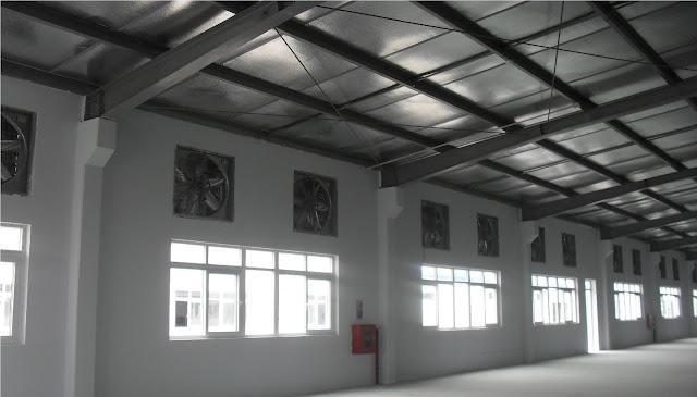 hệ thống quạt công nghiệp cho nhà xưởng
