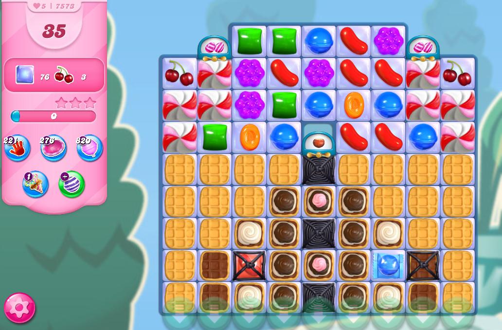 Candy Crush Saga level 7573