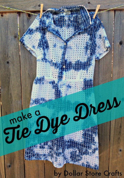 Make a tie dye dress