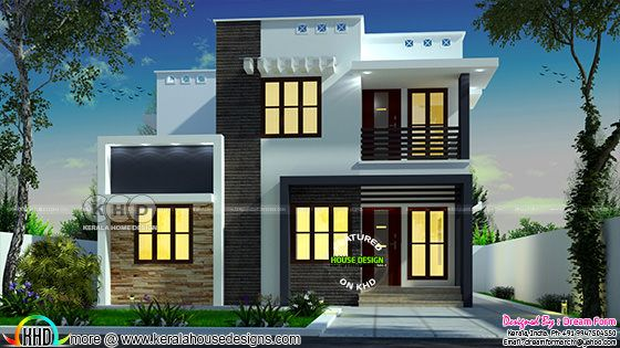 1339 square feet 3 bedroom modern house