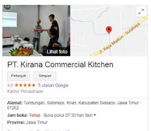 Lowongan Kerja Kirana Kitchen Sidoarjo - Posisi OPERATOR LOGISTIK