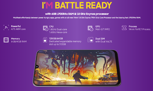 Samsung Galaxy M30 Performance