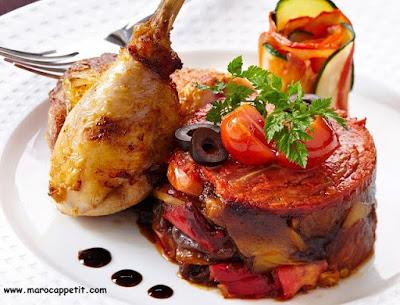 Recette de poulet basquaise   Basque chicken recipe