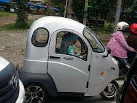 Emaik-Emak Naik Level Naik Motor Listrik Roda Tiga, Berapa Harganya?
