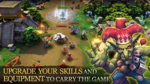 Free Download Heroes of Order & Chaos MOD APK Terbaru v3.5.0n Hack Unlimited Money