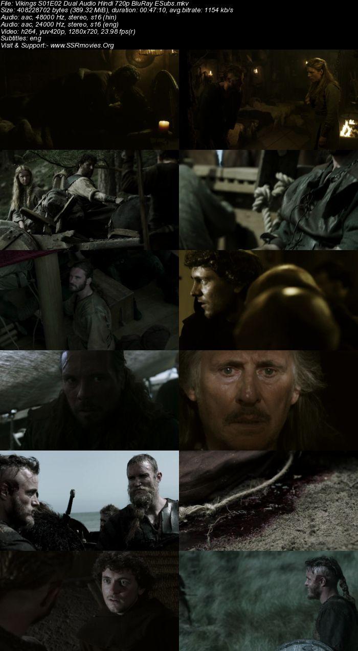 Vikings S01 Complete Dual Audio Hindi 720p BluRay ESubs