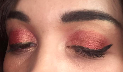 revue palette Rose Gold Edition Huda Beauty