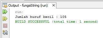 Menghitung Jumlah Huruf Besar dan Kecil Pada Kalimat di Java