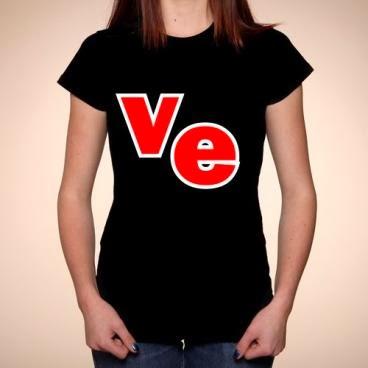 koszulki dla zakochanych: Lo-ve komplet