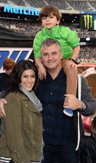 Shane McMahon And Wife Son Declan JPG