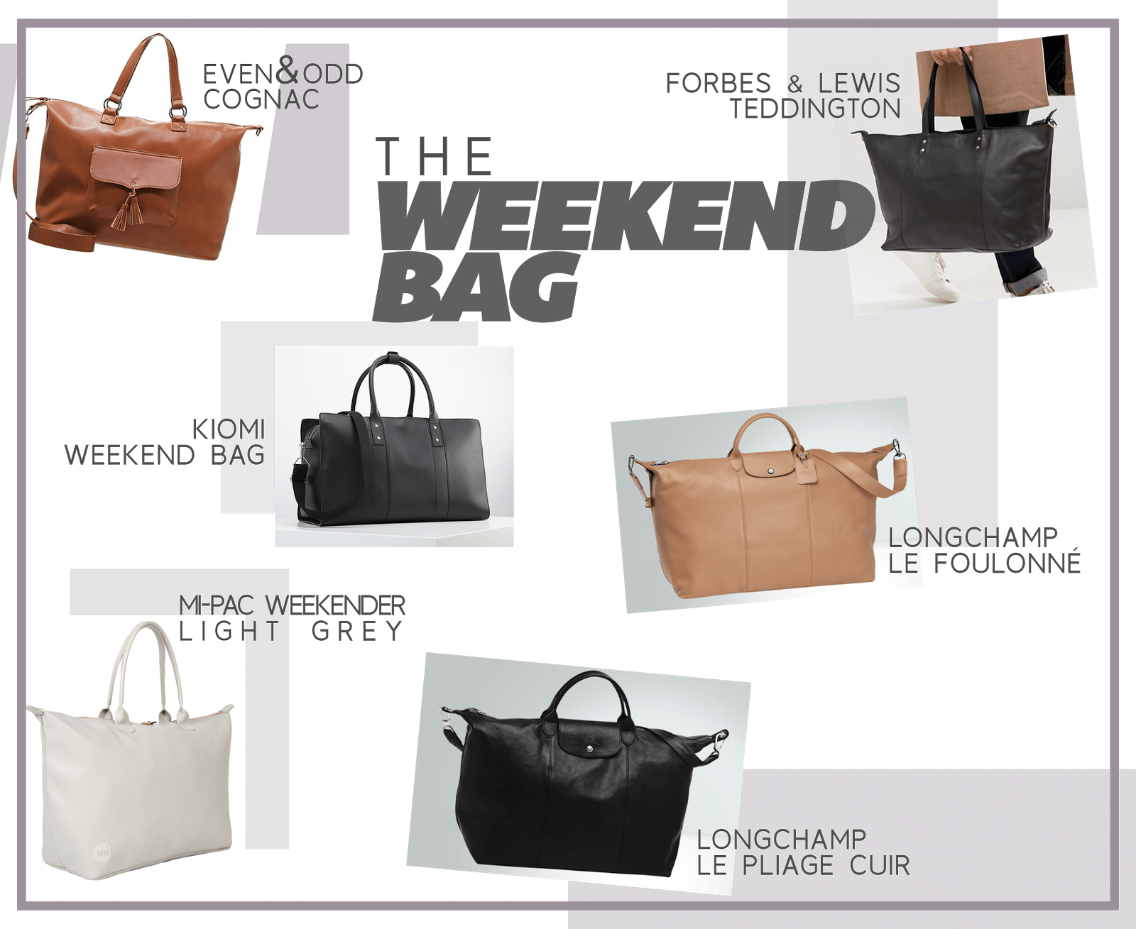 travel essential wishlist weekend bag