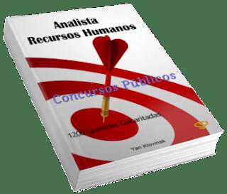 Livro: Analista de Recursos humanos para Concursos Públicos
