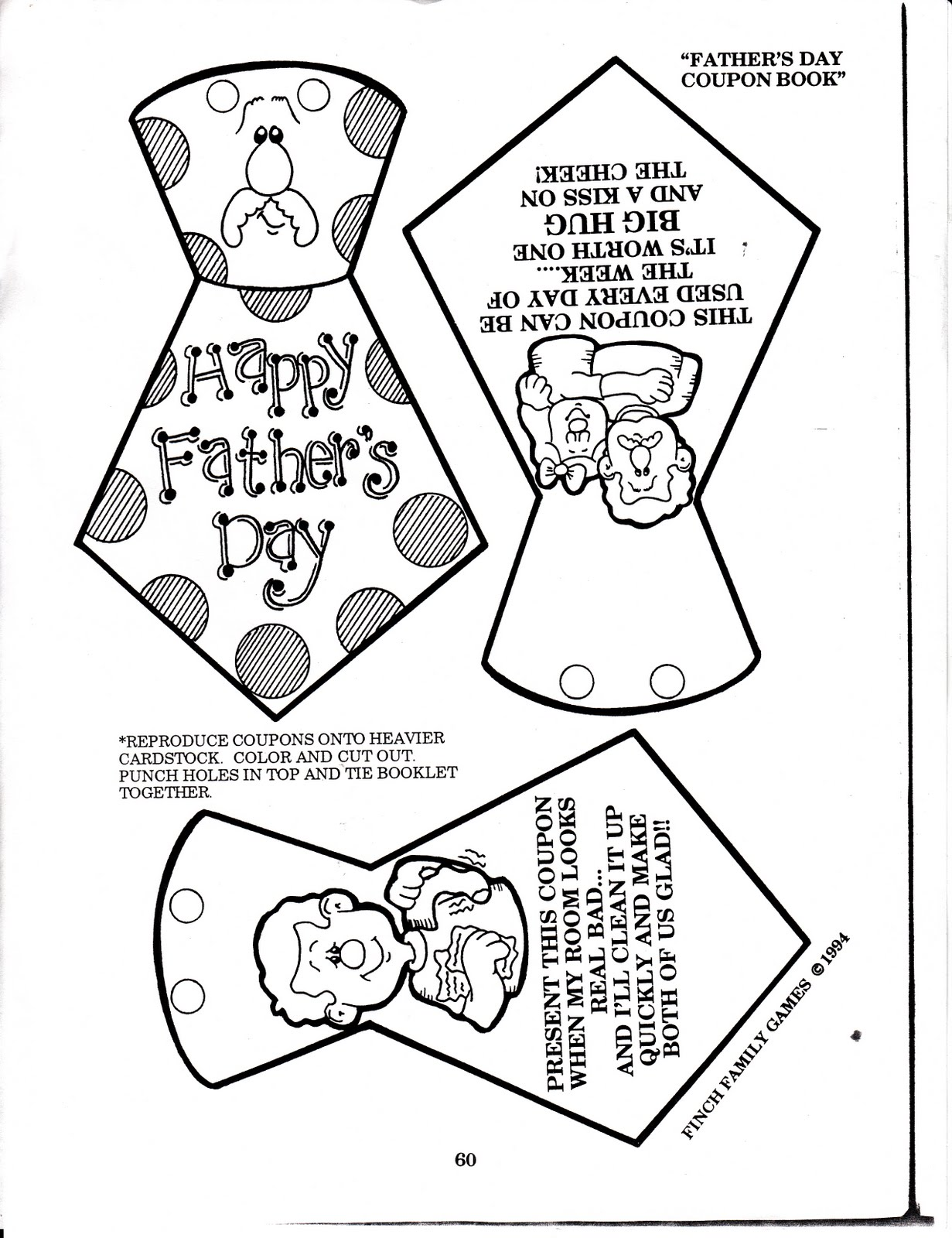Father's Day Activities and Printables : Let's Celebrate!