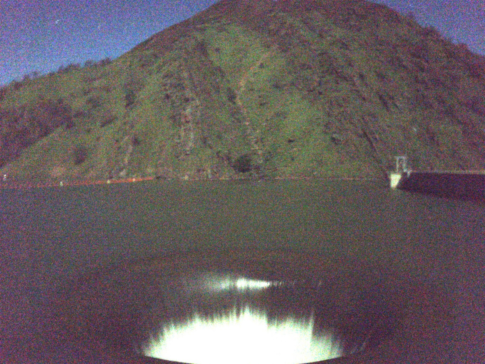 Moto: Lake Berryessa Monticello Dam Glory Hole At Night