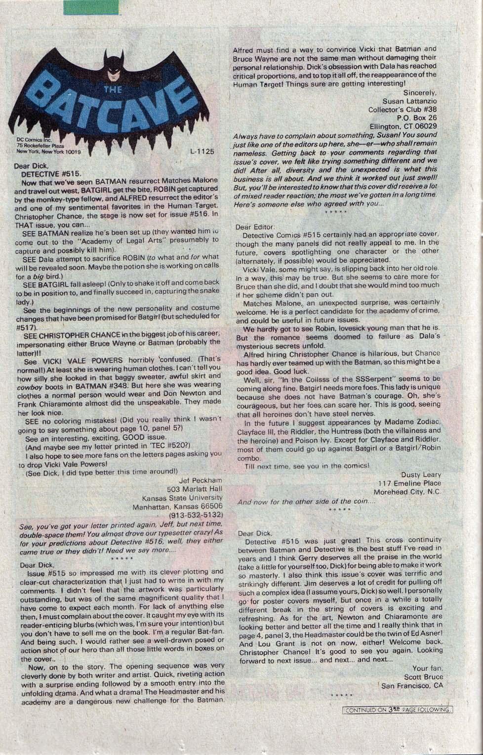 Detective Comics (1937) 520 Page 20