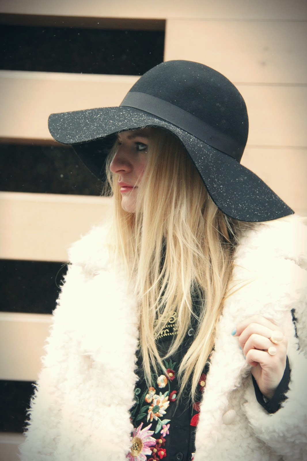 winter style, boho chic