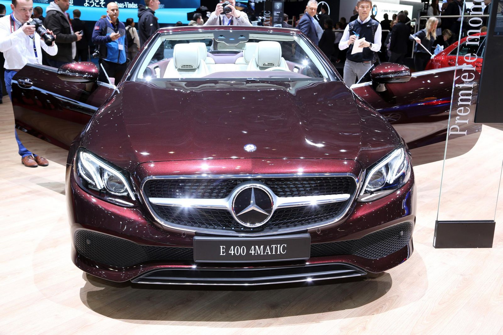 Stylish 2018 Mercedes Benz E Class Cabriolet And Coupe