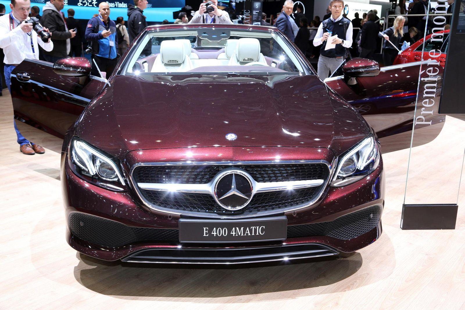 Coloris Mercedes Coupe Classe E