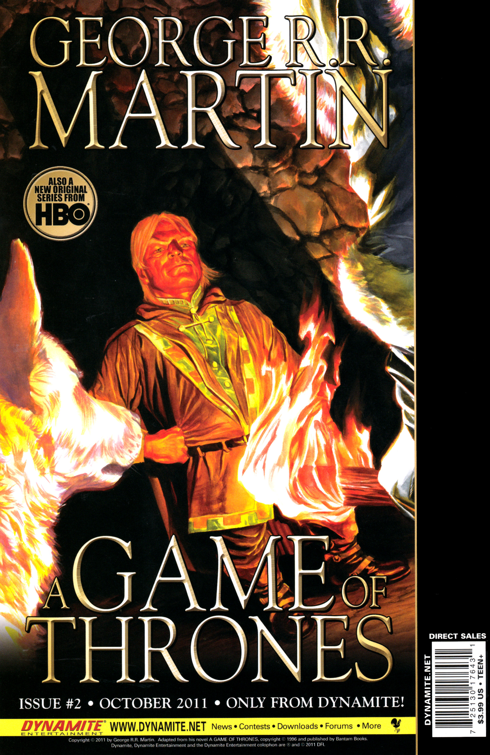 Read online A Game Of Thrones comic -  Issue #1 - 36