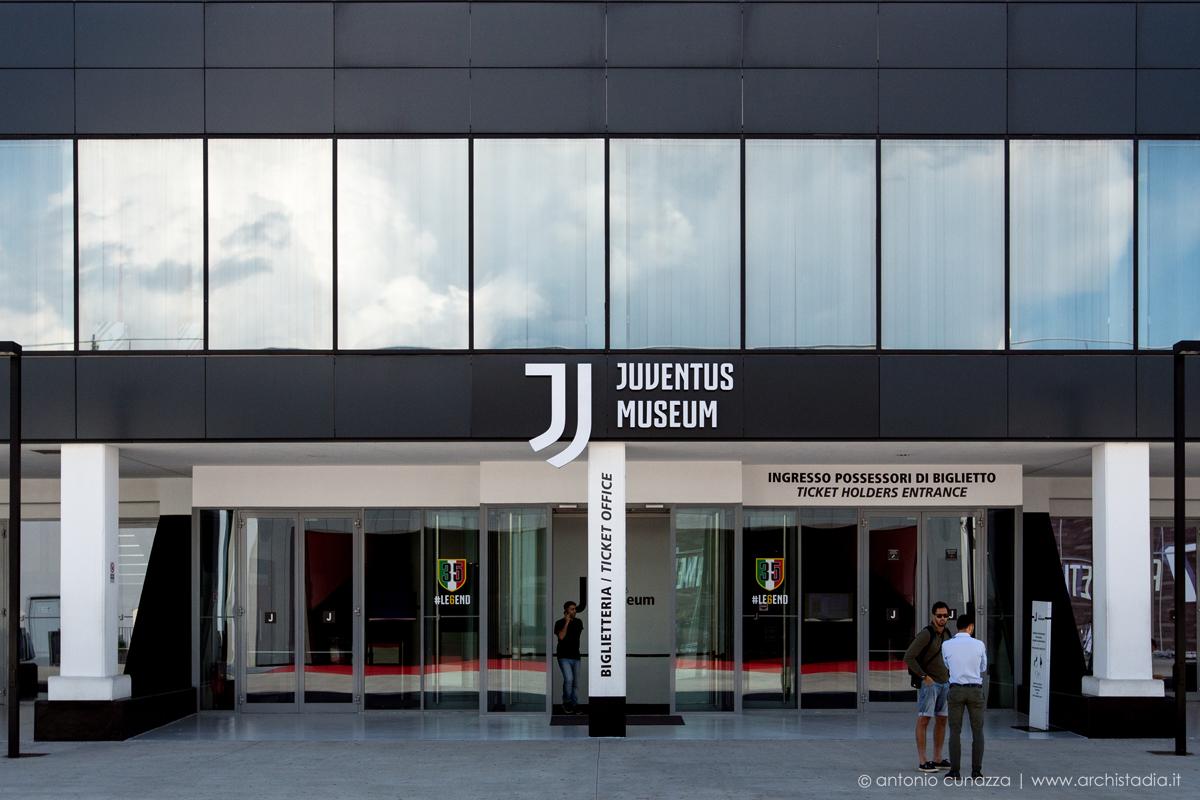nuovo logo juventus museum allianz stadium