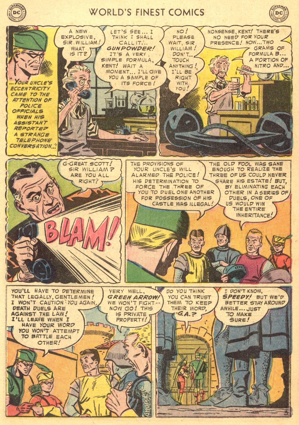 Read online World's Finest Comics comic -  Issue #70 - 23
