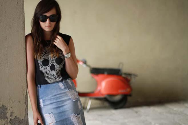 bc163baa5 Faldas Vaqueras... - Comparte Mi Moda