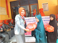 Aksi Sosial Isteri-Isteri Anggota DPRD Kota Bima