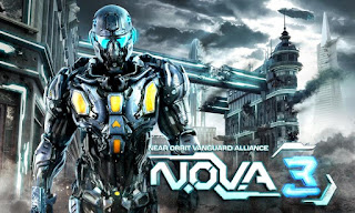 N.O.V.A 3 – Near Orbit Vanguard Alliance HD v1.0.8e Apk+Data