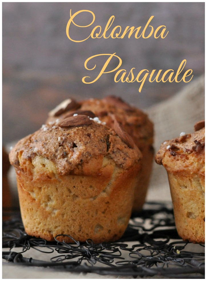 glutenfree Colomba Pasquale-Muffins, a fluffy Italian treat for easter