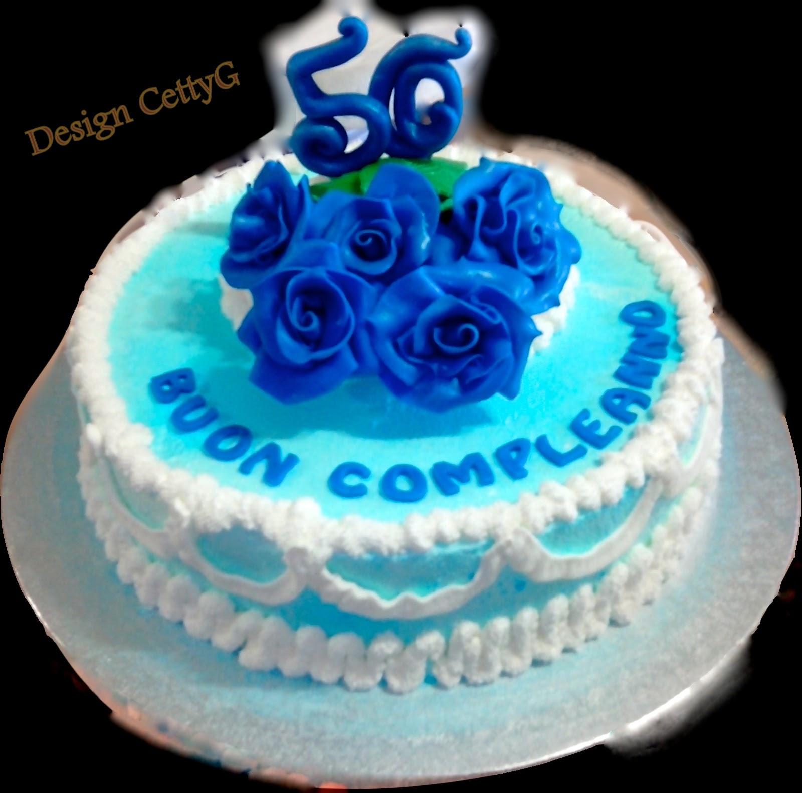 Amato Le torte decorate di Cetty G: 50 anni TF47