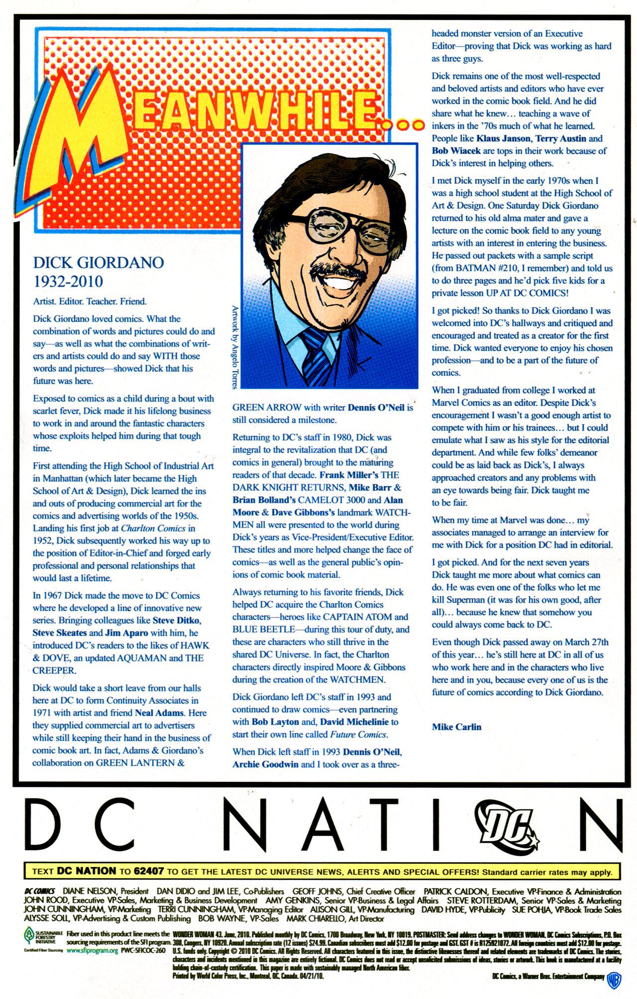 Read online Wonder Woman (2006) comic -  Issue #43 - 24