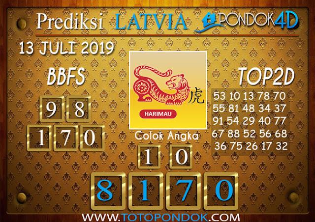 Prediksi Togel LATVIA PONDOK4D 14 JULI 2019