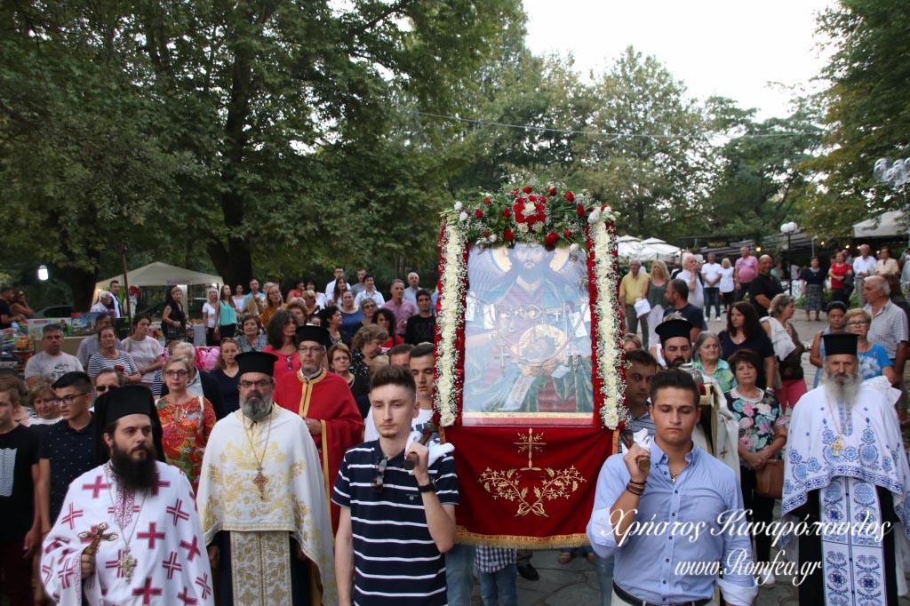 Πάνδημος εορτασμός του Αγίου Προδρόμου στην Χαλκιδική (ΦΩΤΟ)