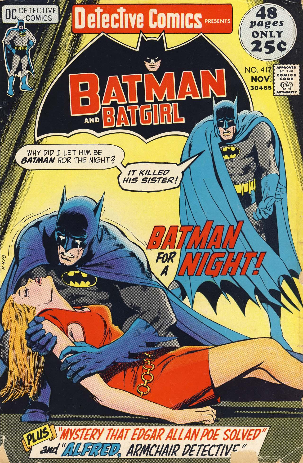 Detective Comics (1937) 417 Page 1