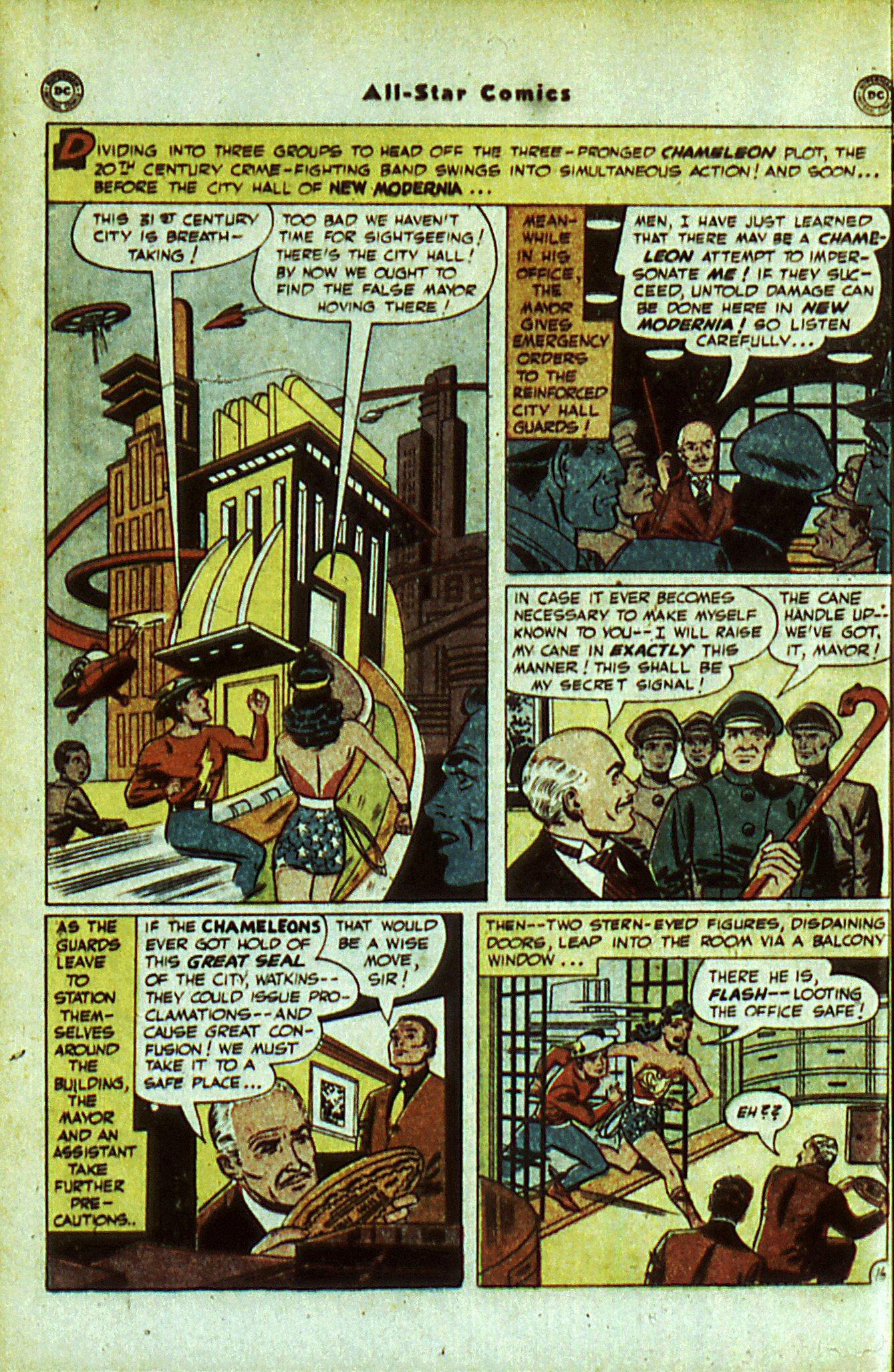 Read online All-Star Comics comic -  Issue #56 - 20