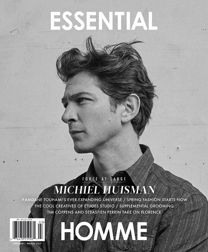 Michiel Huisman by Thomas Goldblum for Essential Homme February 2017