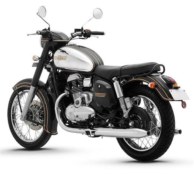 New 2019 Jawa 300 black color