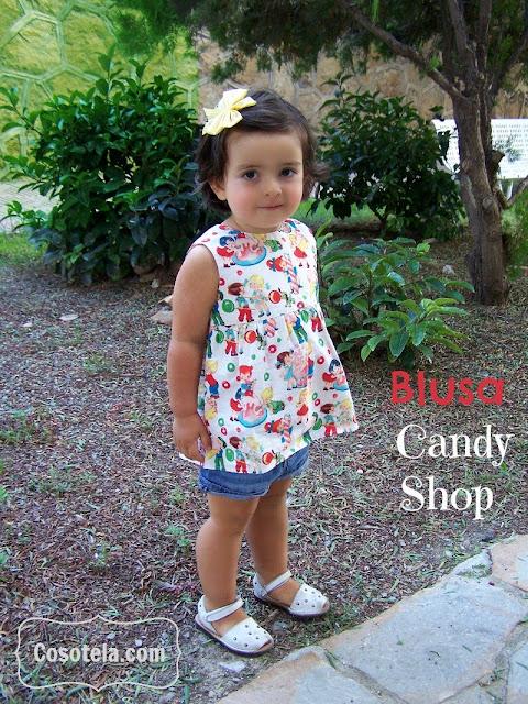 Blusa Candy Shop