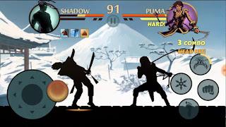 تحميل لعبة Shadow Fight 2 تحديث الاخير نقود لاتنتهي اندرويد